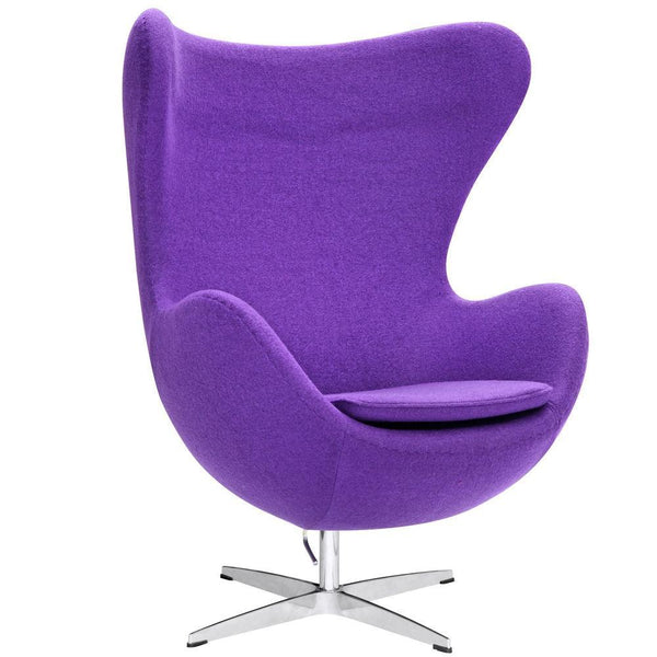 Fine Mod Imports Inner Chair Fabric-Accent Chair-Fine Mod Imports-Purple-Hammock UP