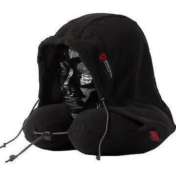 Grand Trunk Blackout Hooded Neck Pillow-Hammock Accessories-GRAND TRUNK-Black-Hammock UP