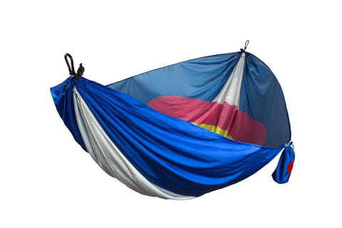 Grand Trunk Colorado Flag Hammock-Hammock-GRAND TRUNK-Hammock UP