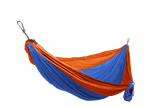 GRAND TRUNK Double Parachute Nylon Hammock-Hammock-GRAND TRUNK-Blue/Orange-Hammock UP