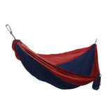 GRAND TRUNK Double Parachute Nylon Hammock-Hammock-GRAND TRUNK-Navy/Red-Hammock UP