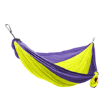 GRAND TRUNK Double Parachute Nylon Hammock-Hammock-GRAND TRUNK-Neon/Purple-Hammock UP