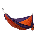 GRAND TRUNK Double Parachute Nylon Hammock-Hammock-GRAND TRUNK-Orange/Purple-Hammock UP