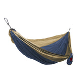 GRAND TRUNK Double Parachute Nylon Hammock-Hammock-GRAND TRUNK-Royal Blue/Khaki-Hammock UP