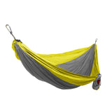 GRAND TRUNK Double Parachute Nylon Hammock-Hammock-GRAND TRUNK-Silver/Yellow-Hammock UP