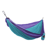GRAND TRUNK Double Parachute Nylon Hammock-Hammock-GRAND TRUNK-Sky Blue/Purple-Hammock UP