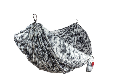 GRAND TRUNK Double Parachute Printed Nylon Hammock - Galactic Dye-Hammock-GRAND TRUNK-Galactic Dye-Hammock UP