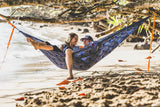 GRAND TRUNK Double Parachute Printed Nylon Hammock - Koi-Hammock-GRAND TRUNK-Hammock UP