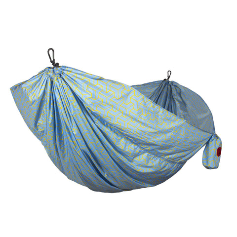 GRAND TRUNK Double Parachute Printed Nylon Hammock - Yamabushi-Hammock-GRAND TRUNK-Hammock UP