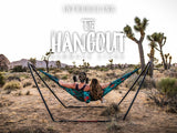 Grand Trunk Hangout Hammock Stand-Hammock Stand-GRAND TRUNK-Black-Hammock UP