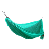 Grand Trunk Single Parachute Nylon Hammock-Hammock-GRAND TRUNK-Green/Mint-Hammock UP