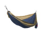 Grand Trunk Single Parachute Nylon Hammock-Hammock-GRAND TRUNK-Royal Blue/Khaki-Hammock UP