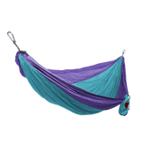 Grand Trunk Single Parachute Nylon Hammock-Hammock-GRAND TRUNK-Sky Blue/Purple-Hammock UP