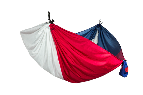 Grand Trunk Texas Flag Hammock-Hammock-GRAND TRUNK-TEXAS-Hammock UP