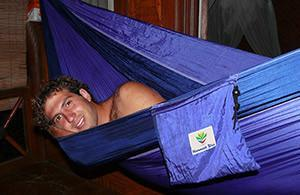 HAMMOCK BLISS Double Hammock - Blue/Purple-Hammock-HAMMOCK BLISS-Hammock UP