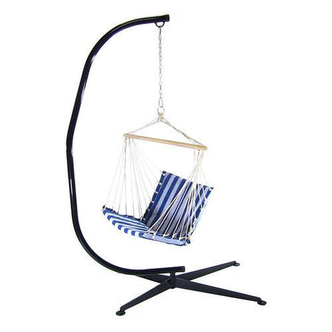 hammock   c   stand for hanging chair hammock stand sunnydaze decor  hammock     sunnydaze decor hammock   c   stand for hanging chair hshc hammock      rh   hammockup