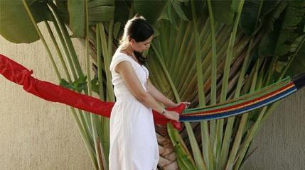 Hammock Cover-Hammock Accessories-SUNNYDAZE DECOR-Hammock UP