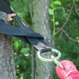 Hammock Tree Straps with Carrying Bag- Brown-Hammock Accessories-SUNNYDAZE DECOR-Hammock UP