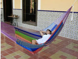 Jumbo Mayan Hammock- Multi Colored-Mayan hammock-SUNNYDAZE DECOR-Hammock UP
