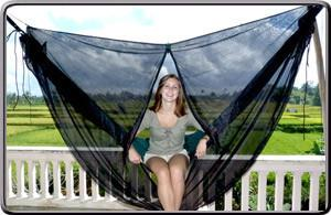 Mosquito Net Cocoon-Hammock Accessories-HAMMOCK BLISS-Hammock UP