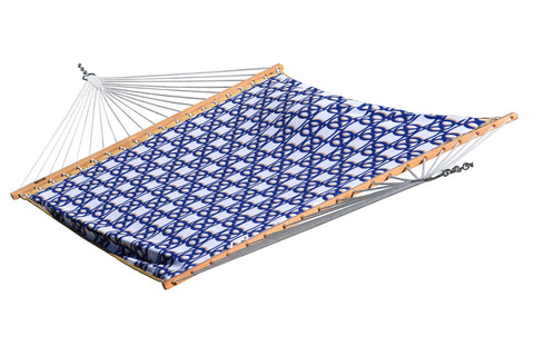 Quilted Fabric Hammock - Double (Nautical)-Hammock-VIVERE-Hammock UP