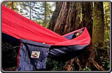 Single Hammock - Navy/Red-Hammock-HAMMOCK BLISS-Hammock UP