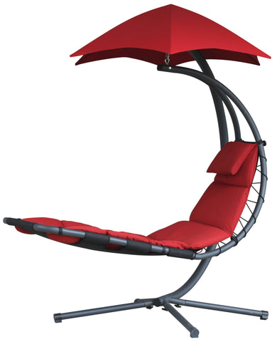 The Original Dream Chair ™-Lounger-VIVERE-Cherry Red-Hammock UP