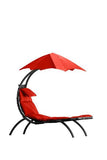 The Original Dream Lounger ™-Lounger-VIVERE-Cherry Red-Hammock UP