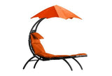 The Original Dream Lounger ™-Lounger-VIVERE-Orange Zest-Hammock UP