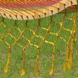 Thick Cord Mayan Hammock Stand Combo - Multicolor-Combo-SUNNYDAZE DECOR-Hammock UP