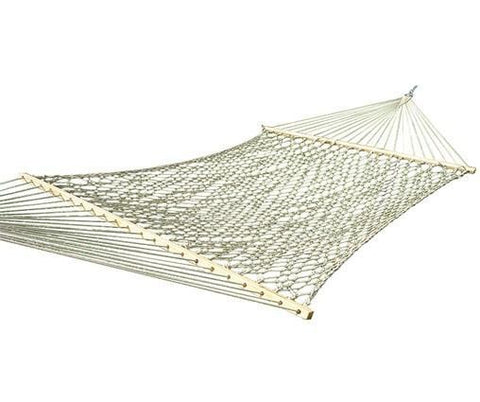 Vivere Cotton Rope Hammock - Double - Natural-Hammock-VIVERE-Hammock UP