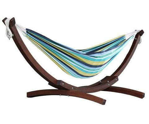 Vivere Wooden Arc Combo-Combo-VIVERE-Cayo Reef-Hammock UP