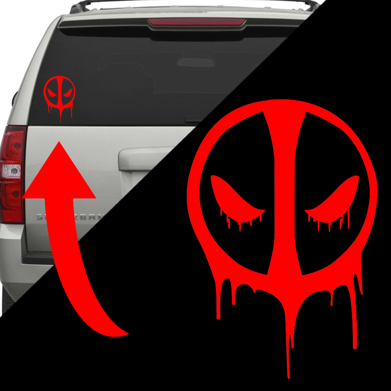 Free 6 deadpool decal