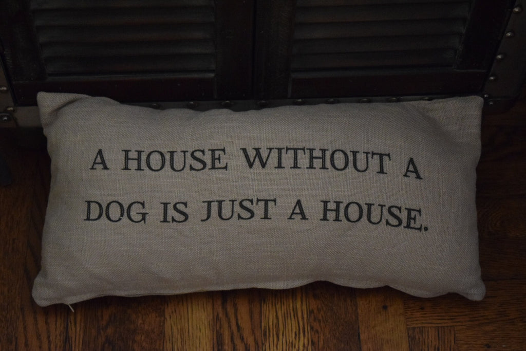 House Quote Pillow