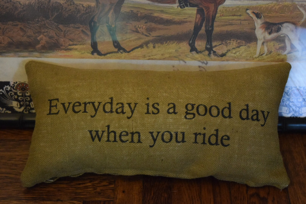Good Day Quote Pillow
