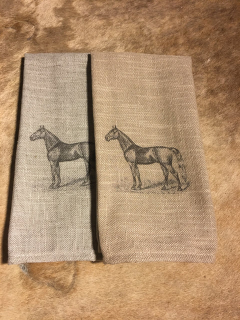 Standing Horse Cafe Towels