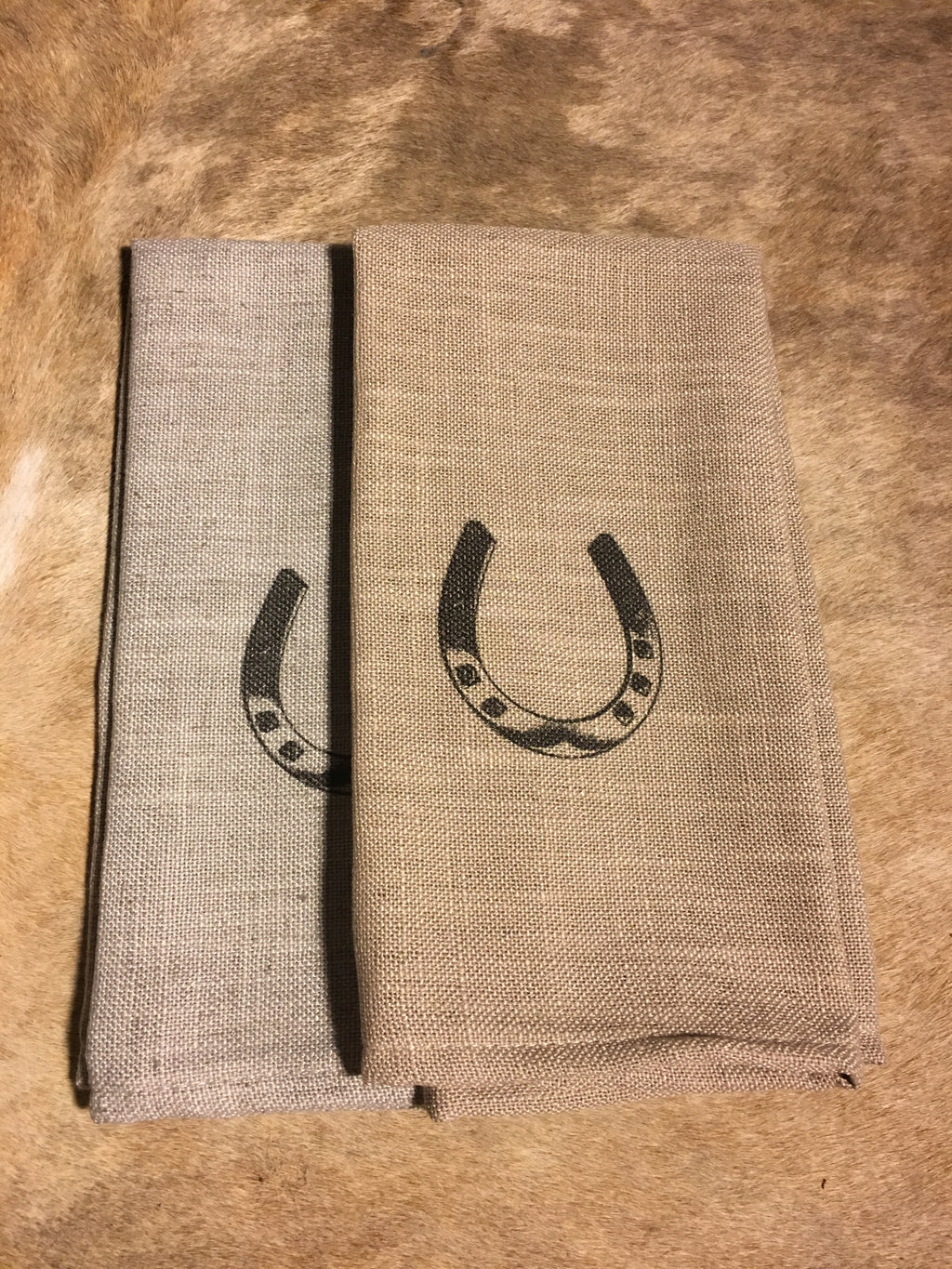 Horse Shoe Cafe Towels