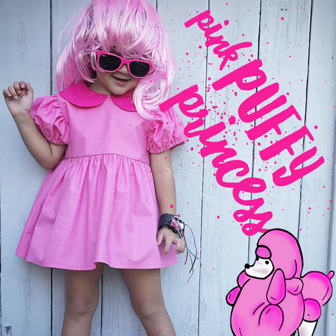 Pink Princess Puff Tunic