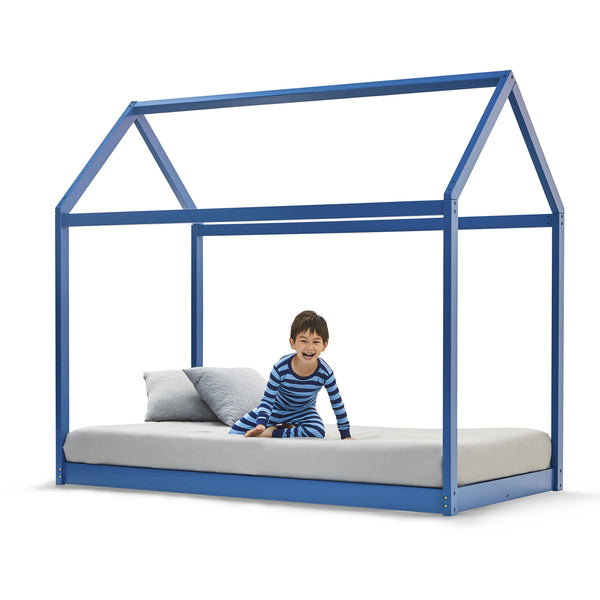 House Bed BLUE - Double Size