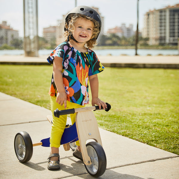 2-in-1 Balance Bike - BLUE