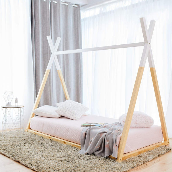 Teepee Bed WHITE TOP - Twin Size