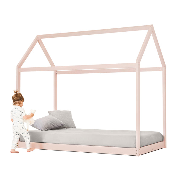 House Bed - PINK - Twin size