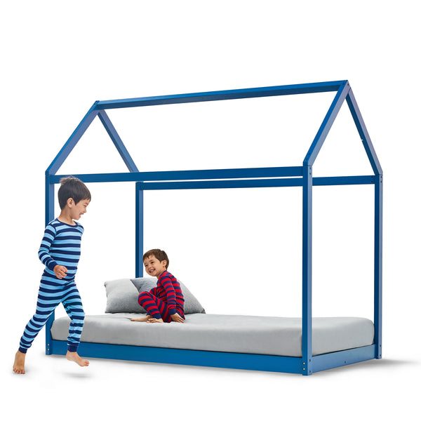 House Bed - BLUE - Twin size