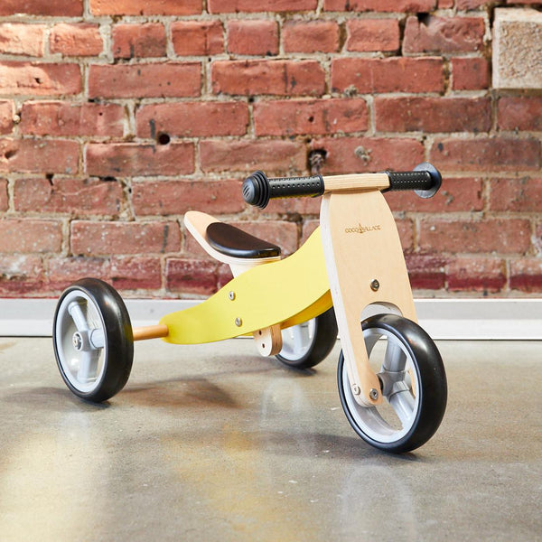 2-in-1 Balance Bike - YELLOW (pre-order)