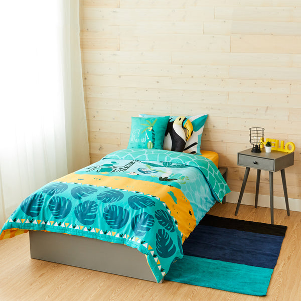 Jungle Bedding Set - Twin Size