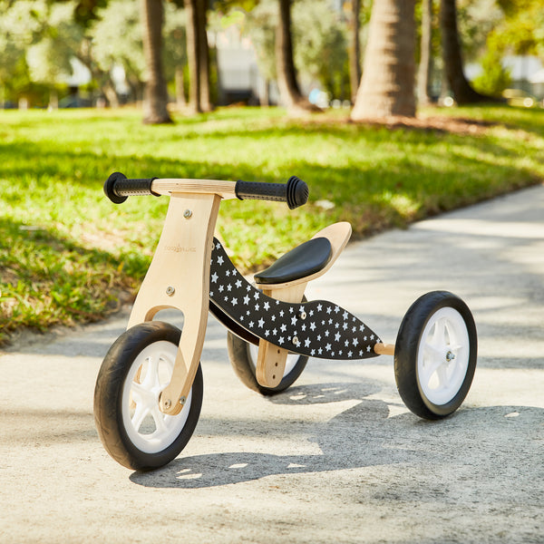 MINI / 2-in-1 Balance Bike - BLACK