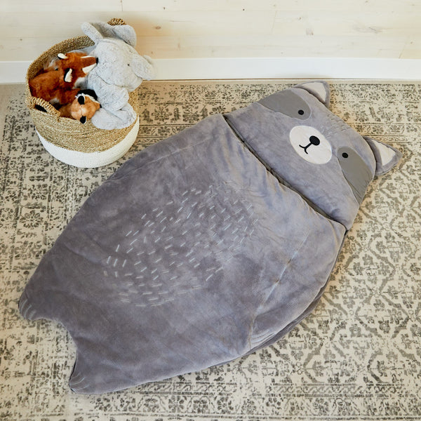 Raccoon Sleeping Bag (pre-order)
