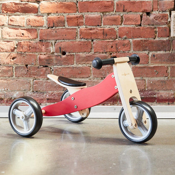 2-in-1 Balance Bike - RED (pre-order)