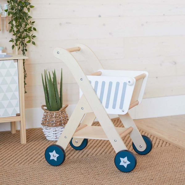 Wooden Shopping Cart (pre-order)
