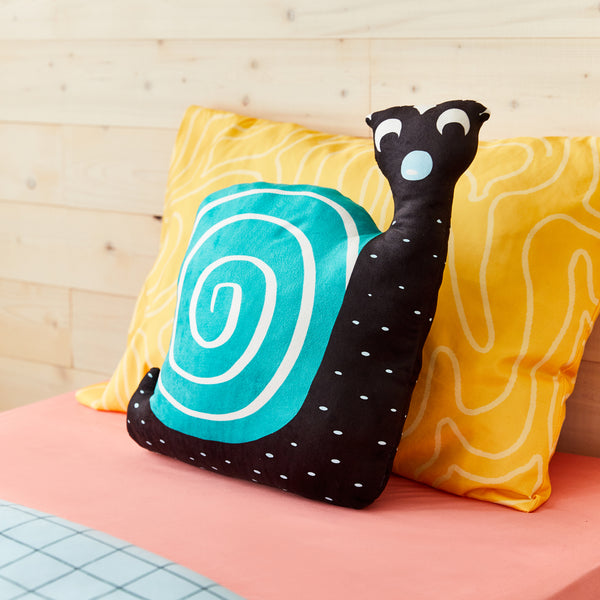 Snail shaped cushion
